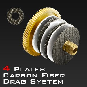 4 Plate Carbon Fiber Drag System