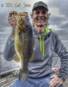 Big Bass Caught on Royale KastKing Legend Baitcasting Reel