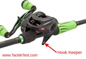 Lew's Mach ll Baitcasting Rod Hook Keeper