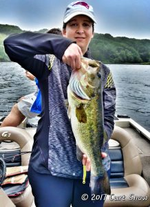 Client with a big bass